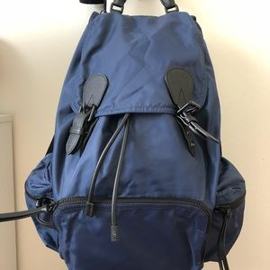 Handbags - Brand new Burberry navy nylon medium